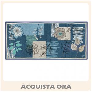 garden tappeto corsia blu