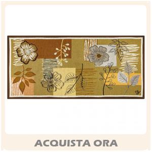 corsia marrone tappeto garden