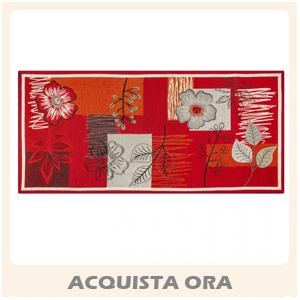 garden corsia tappeto rosso