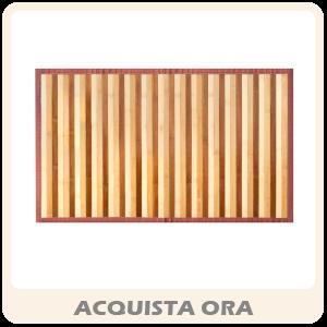 Tappeto Stuoia Da Cucina Modello Bamboo