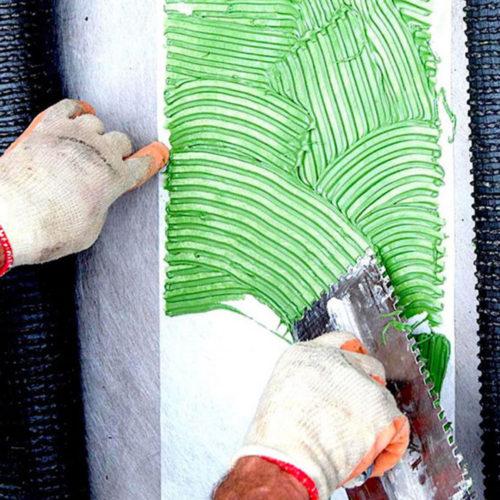 ADESIVER GREEN - COLLA Bicomponente Poliuretanica 4,5kg + 0,5