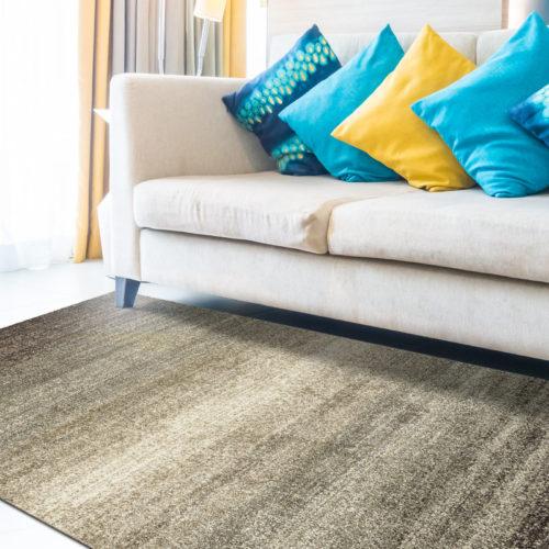 tappeto design mod art degrade brown