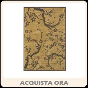 CIPRIA JAPAN - Tappeto D'arredo Moderno In Fantasia Ciliegio In Fiore, Colori E Misure Assortite
