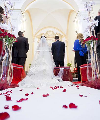 Passatoia rotolo bianco cerimonia