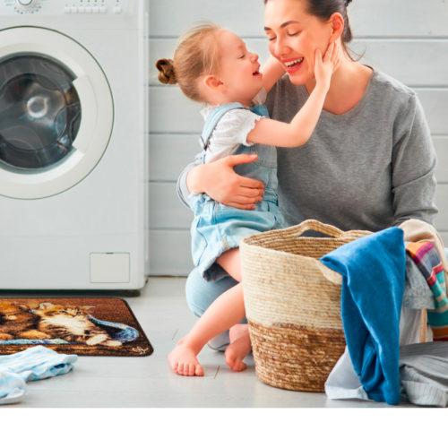 Tappeto animal digital lavanderia