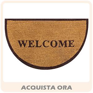Zerbino cocco mezzaluna Welcome