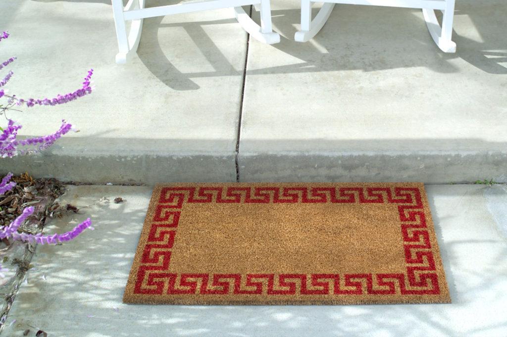Zerbino cocco rettangolare