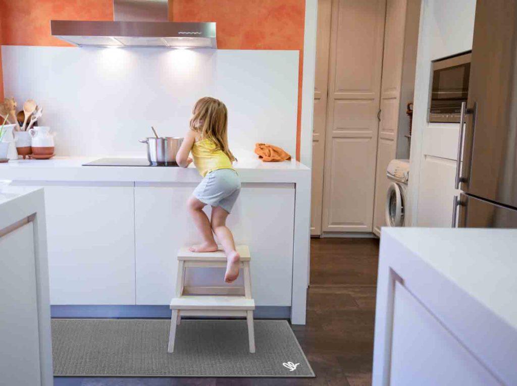 Tappeto per la cucina sicuro antiscivolo